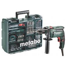 Ударний дриль Metabo SBE 650 SET